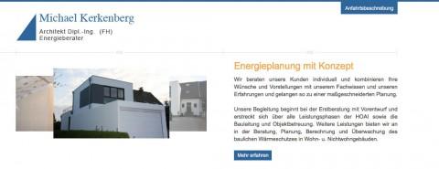 Bedürfnisorientierte Energieberatung in Betzdorf im Raum Neunkirchen: Architekturbüro Michael Kerkenberg Dipl.-Ing. (FH)  in Betzdorf