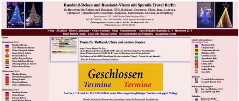 Individual- und Gruppen- Reisen nach Osteuropa ? – ja! – bei Sputnik Travel Berlin  in Berlin