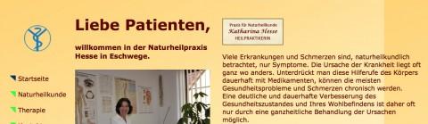 Heilpraktikerin in Eschwege: Katharina Hesse in Eschwege