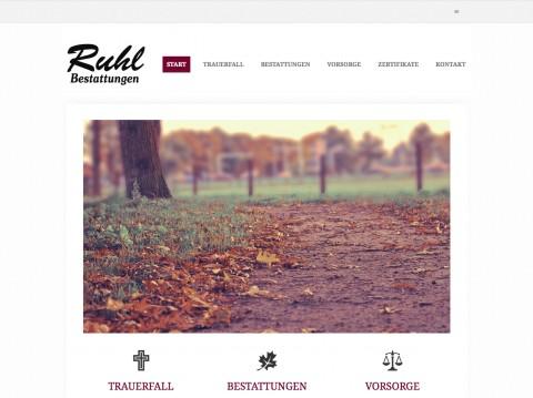 Würdevolle Bestattung in Lauterbach: Familienunternehmen Ruhl Bestattungen  in Lauterbach