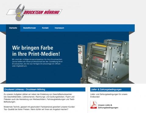 Druckerei in Lichtenau: Druckteam Möhring  in Lichtenau