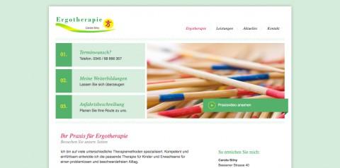 Ergotherapie in Halle an der Saale: Carola Silny  in Halle