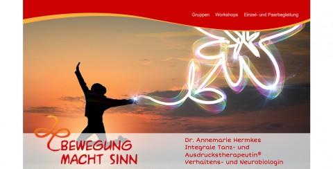 Integrale Tanz- und Ausdruckstherapie® Dr. rer. nat. Annemarie Hermkes in Saarbrücken in Saarbrücken
