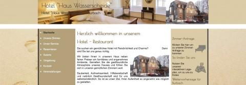 """Hotel """"Haus Wasserscheide"""" in Burbach in Burbach"""