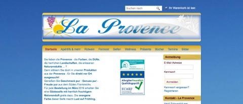 Französische Weine und Spezialitäten: Online-Shop La Provence in St. Georgen-Peterzell