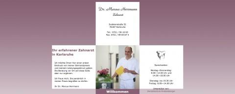 Professionelle Zahnreinigung in Karlsruhe: Zahnarzt Dr. Marcus Herrmann in Karlsruhe