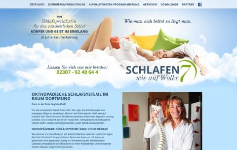 Schlafberatung im Ruhrgebiet: Kathrin Sauerland-Brockmann in Kamen