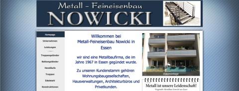 Einzigartige Metallarbeiten in Essen: Traditionsbetrieb Metallbau Nowicki  in Essen