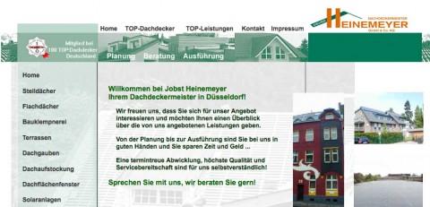 Dachdeckermeister Heinemeyer GmbH und Co. KG in Düsseldorf