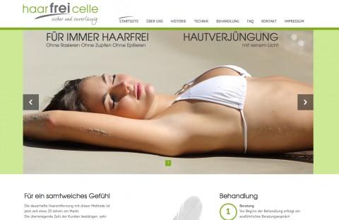 Dauerhafte Haarentfernung bei Haarfrei Celle in Celle
