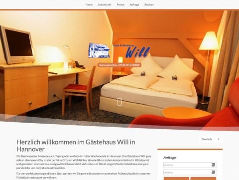 Hotel und Gästehaus Will in Isernhagen: Einfach wohlfühlen in Isernhagen/ Altwarmbüchen