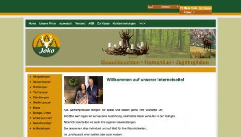 Dekorative Geweihlampen aus dem Bayerischen Wald: Joko Geweihleuchten in Furth im Wald in Furth im Wald