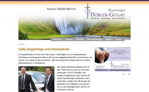 Feinfühlige Unterstützung in Neckarsteinach: Bestattungen Döbler-Gugau in Neckarsteinach