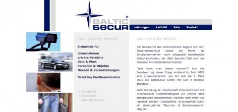 Höchste Sicherheit mit der BalticSecur GmbH in Berlin-Siemensstadt in Berlin-Siemensstadt
