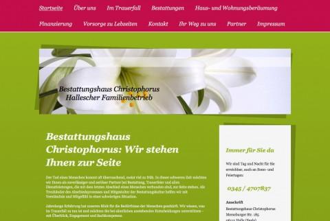 Bestatter in Halle: Bestattungshaus Christophorus in Halle