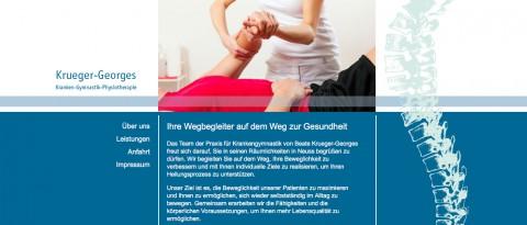 Physiotherapie in Neuss: Krankengymnastik Beate Krueger-Georges in Neuss