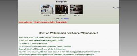 Umfangreiches Angebot: Koncet Weinhandel aus Recklinghausen in Recklinghausen