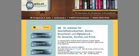 Ihr Daumenkino-Spezialist: MB Druck + Werbung in Bayern in Kühbach