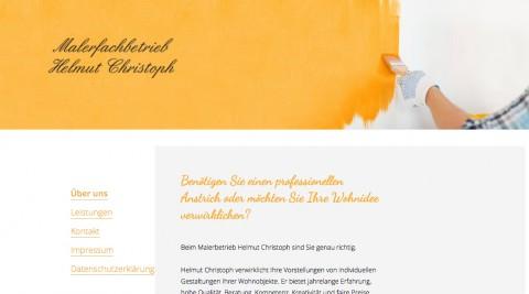 Malerfachbetrieb Helmut Christoph in der Region Cottbus in Werben