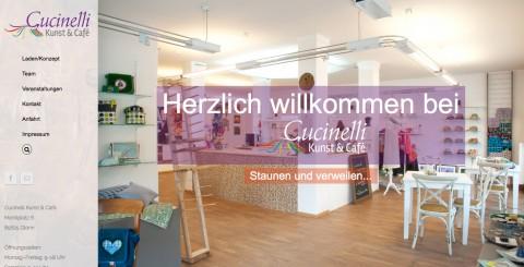 Kunst und Café vereint: Das ist Cucinelli in 85625