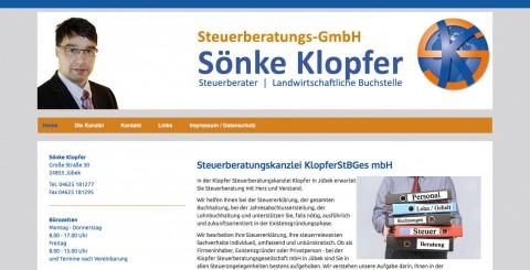 Steuerberater in Jübek: Sönke Klopfer Steuerberatungs-GmbH in Jübek