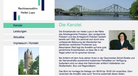 Arbeitsrecht in Potsdam: Rechtsanwältin Heike Lups in Potsdam