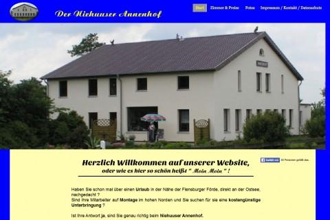 Niehuuser Annenhof: Ferienwohnungen in Harrislee bei Flensburg in Harrislee