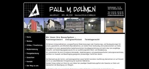 Dipl.-Ing. Paul M. Dohmen in Mülheim-Kärlich: Architekt aus Leidenschaft in Mülheim-Kärlich
