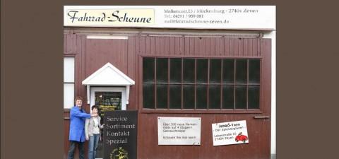 Der Fahrradladen in Zeven: Riesige Auswahl in der Fahrrad-Scheune in Zeven