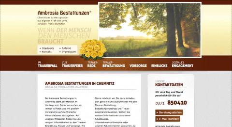 Vertrauensvoller Bestatter in Chemnitz: Ambrosia Bestattungen  in Chemnitz