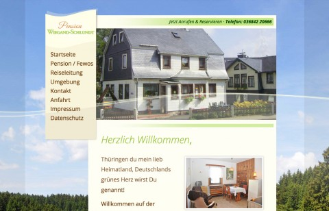 Pension in Oberhof: Wiegand-Schlundt  in Oberhof