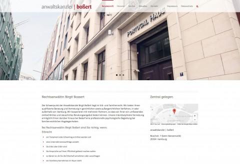Anwaltskanzlei Boßert: Rechtsanwältin Birgit Boßert in Hamburg in Hamburg
