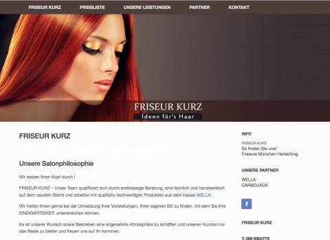 Neuer Stil beim Friseur Kurz in München in München