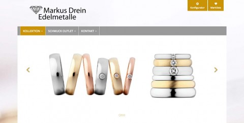 Schmuck in Solingen: Schmuck-Outlet Markus Drein in Solingen