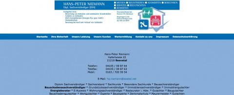 Bausachverständiger Hans-Peter Niemann in Seevetal in Seevetal