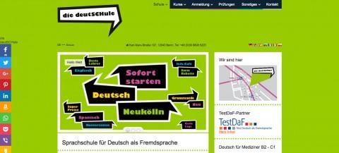 German language school in Berlin  in Berlin-Neukölln