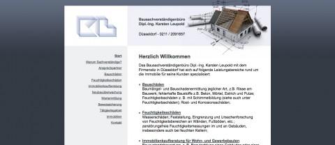 Bausachverständigenbüro Dipl.-Ing. Karsten Leupold in Düsseldorf: Kaufberatung für Häuser, Wohnungen und Gewerbebauten in Düsseldorf