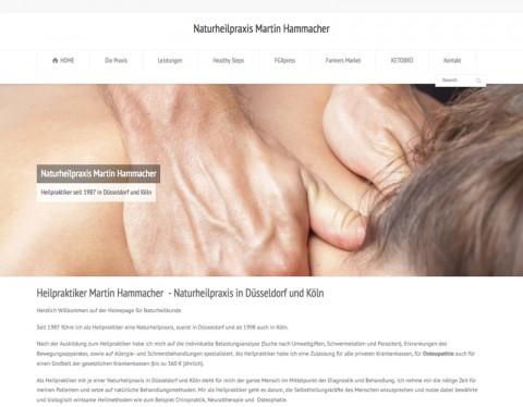 Naturheilpraxis Martin Hammacher in Köln: Ganzheitliche Behandlung des Menschen in Köln