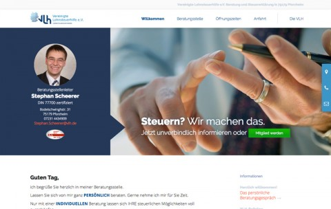 Steuern? Wir machen das. Drei Gründe für die VLH in Pforzheim in Pforzheim
