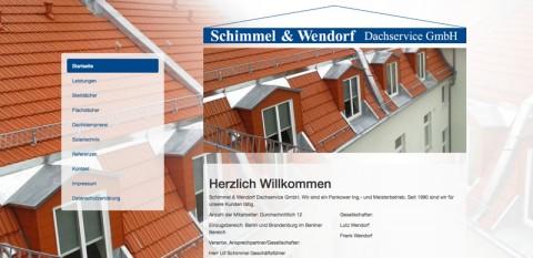 Zuverlässige Dachklempner in Berlin: Schimmel und Wendorf Dachservice GmbH  in Berlin