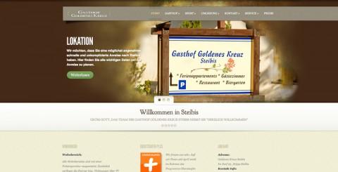 Gemütliche Pension in der Region Oberstaufen: Gasthof Goldenes Kreuz lädt zum Entspannen ein in Steibis