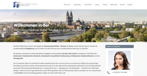 Rechtsanwaltskanzlei Müller & Michael in Magdeburg in Magdeburg