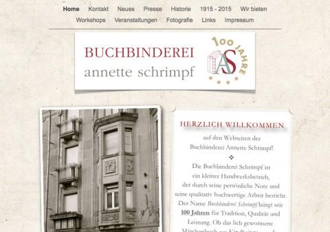 Buchbinderei Annette Schrimpf in Mannheim  in Mannheim
