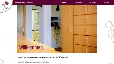 Die Zahnarztpraxis am Kreuzplatz in Schifferstadt in Schifferstadt