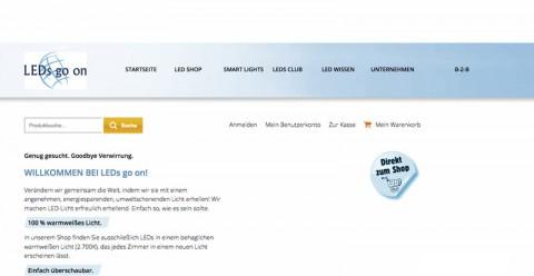 LEDs go on: Der Shop für umweltfreundliche Beleuchtung in Königswinter