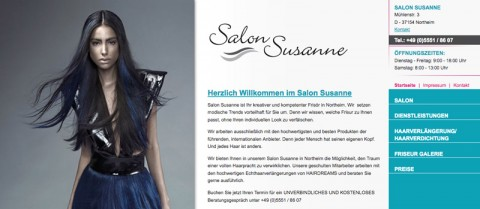 Moderner Friseursalon in Northeim: Salon Susanne in Northeim