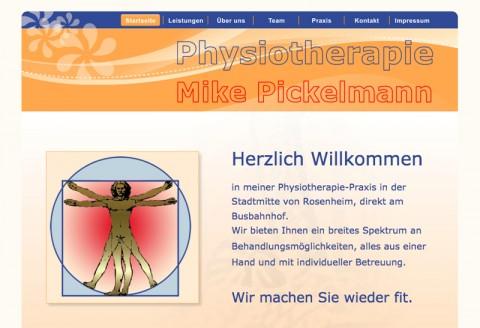 Praxis für Physiotherapie Mike Pickelmann: Physio im Raum Rosenheim in Rosenheim