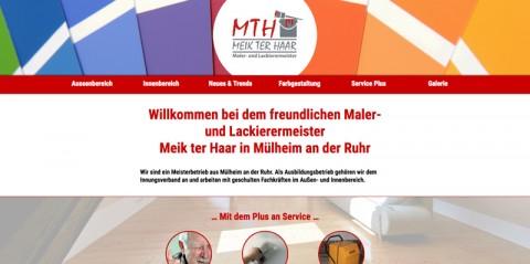 Maler- und Lackiermeister MTH - Meik ter Haar in Mülheim an der Ruhr in Mülheim an der Ruhr