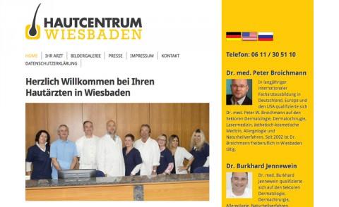 Hautcentrum Wiesbaden: Dr. Peter Broichmann und Dr. Burkhard Jennewein in Wiesbaden