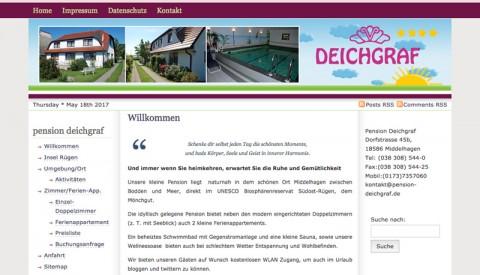 Idyllische Pensionen auf Rügen  in Middelhagen